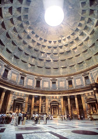 The Oculus of the Pantheon in Rome